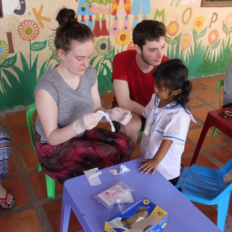 Aoibh B in Cambodia